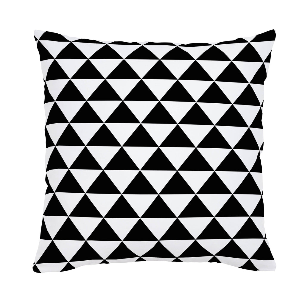 Product image for Onyx Triangle Stack Throw Pillow