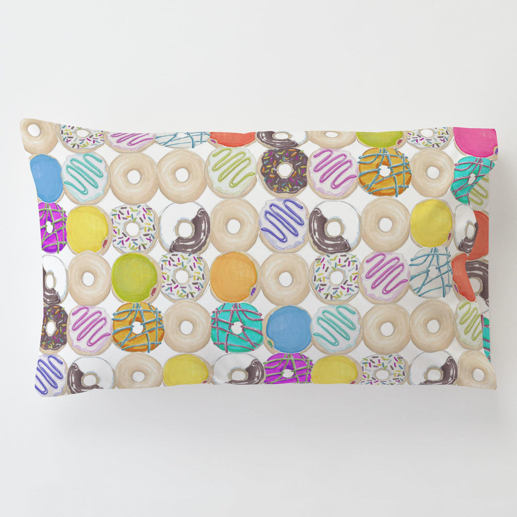 Product image for Donuts Toddler Pillow Case with Pillow Insert