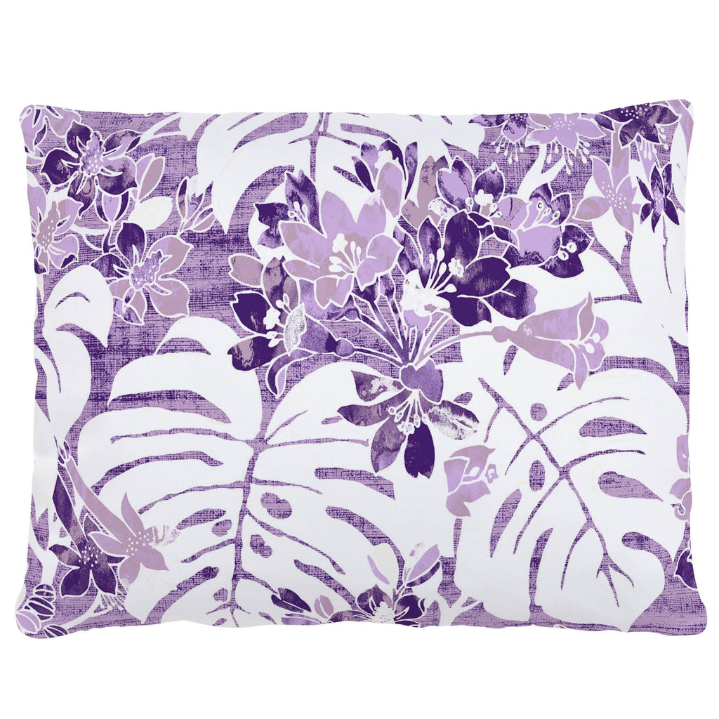 Product image for Purple Tropical Accent Pillow