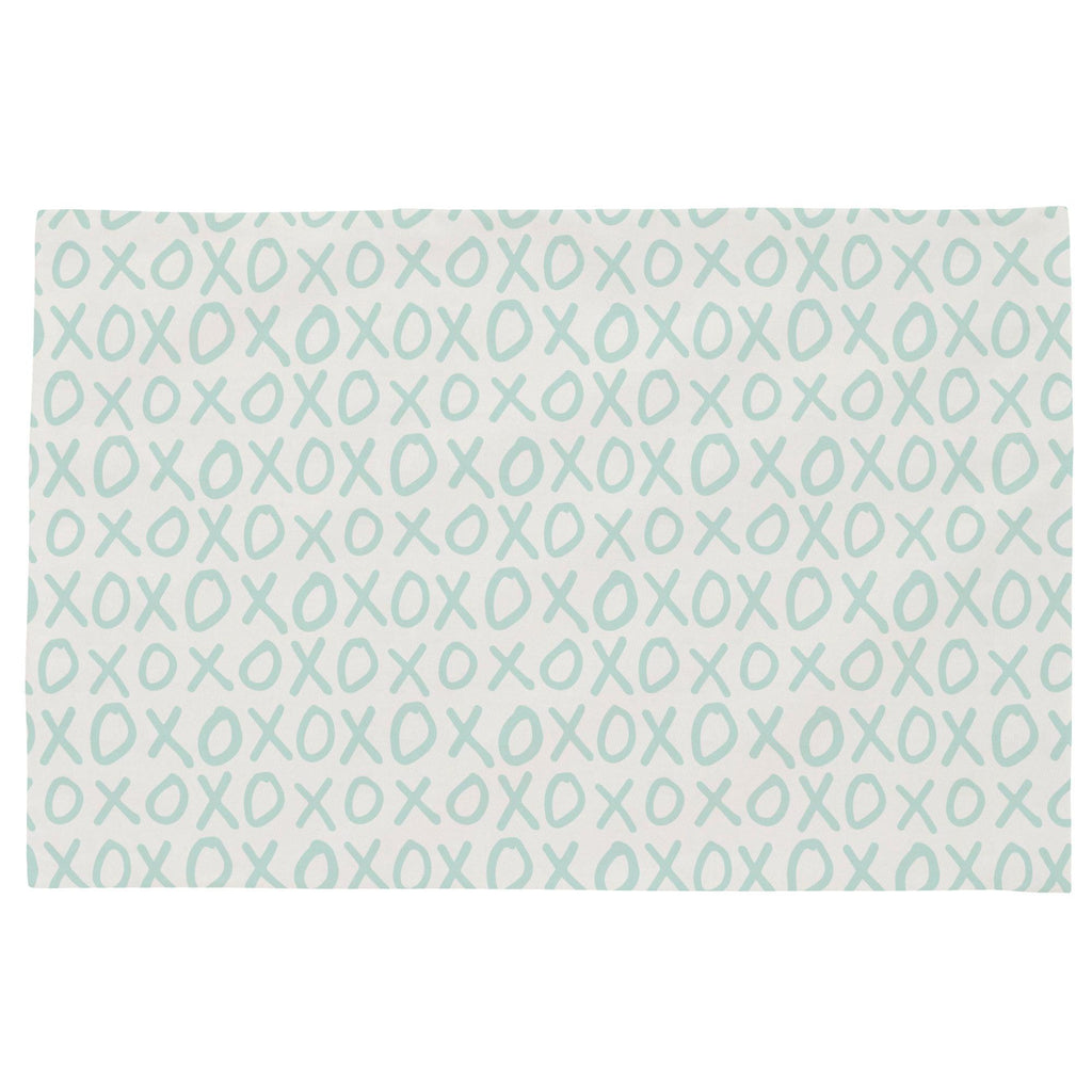 Product image for Icy Mint XO Toddler Pillow Case