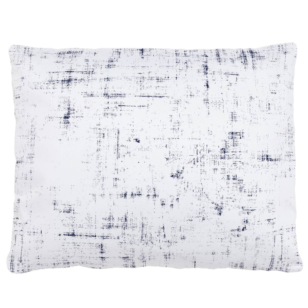 Product image for Navy Distressed Accent Pillow