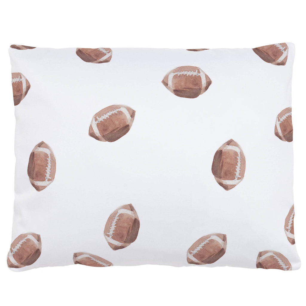 Product image for Watercolor Football Accent Pillow
