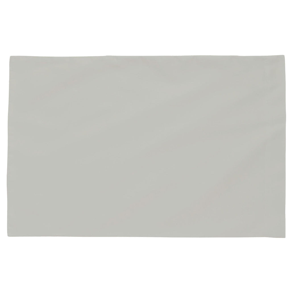 Product image for Solid Silver Gray Toddler Pillow Case