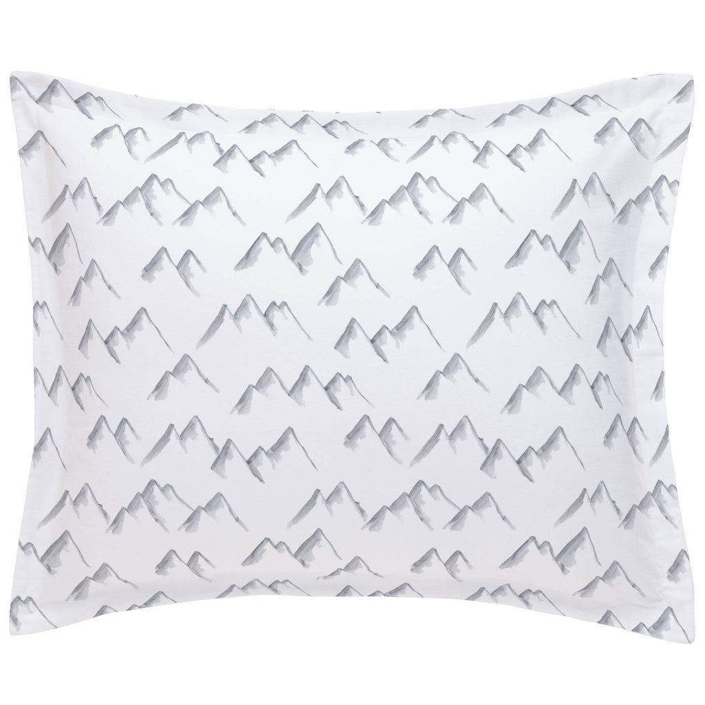 Product image for Watercolor Mountains Pillow Sham