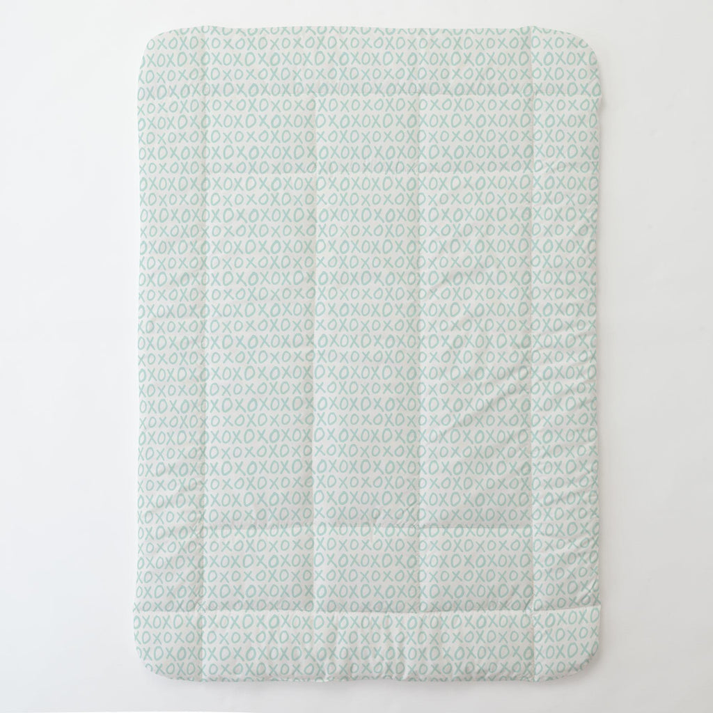 Product image for Icy Mint XO Toddler Comforter