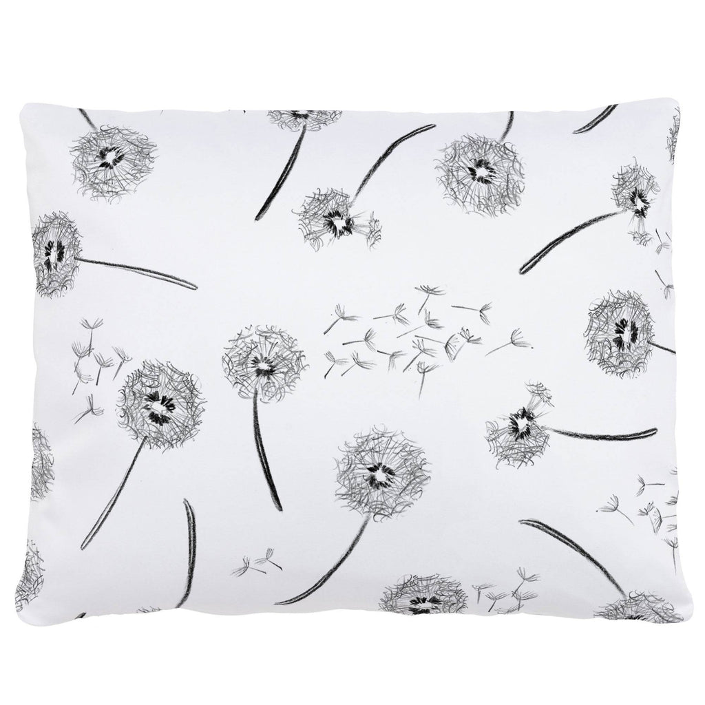 Product image for Hand Drawn Dandelion Accent Pillow