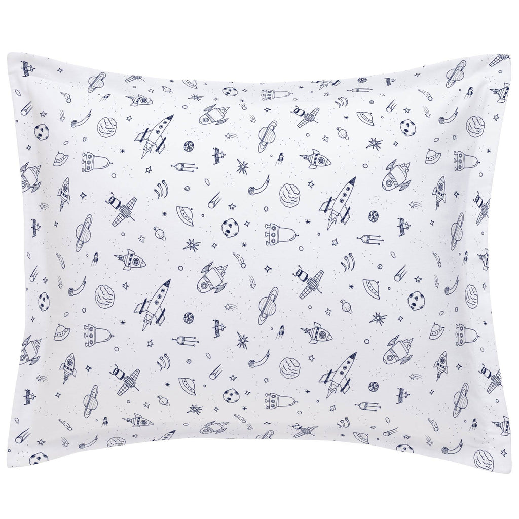 Product image for Windsor Navy and White Rockets Pillow Sham