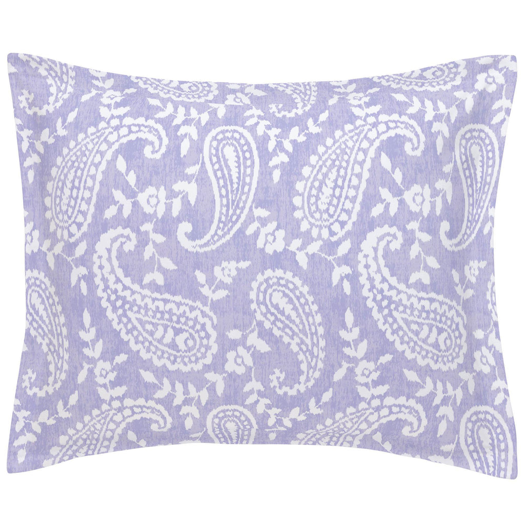Product image for Lilac Paisley Pillow Sham