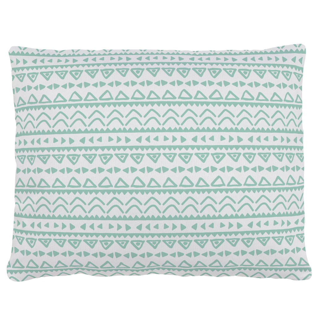 Product image for Mint Baby Aztec Accent Pillow