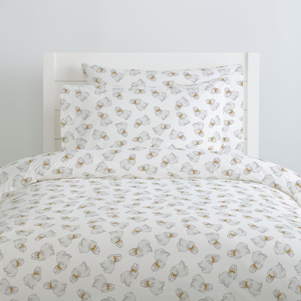 Product image for Painted Bunnies Duvet Cover