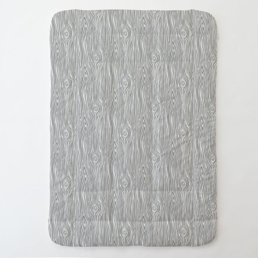 Product image for Gray Woodgrain Toddler Comforter