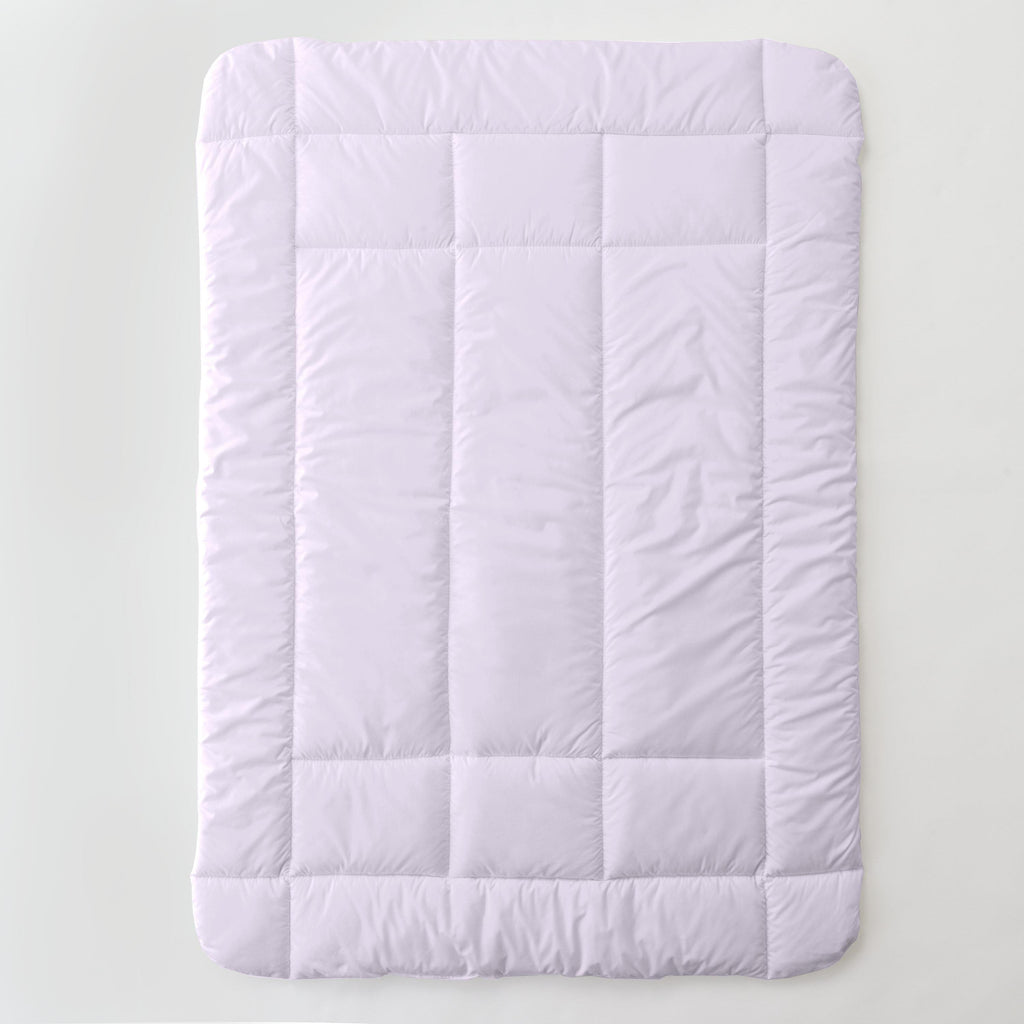 Product image for Solid Lilac Toddler Comforter