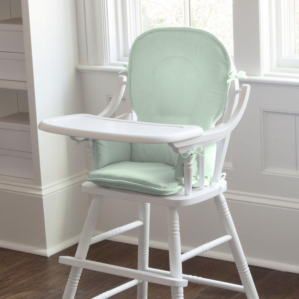 Product image for Solid Icy Mint High Chair Pad
