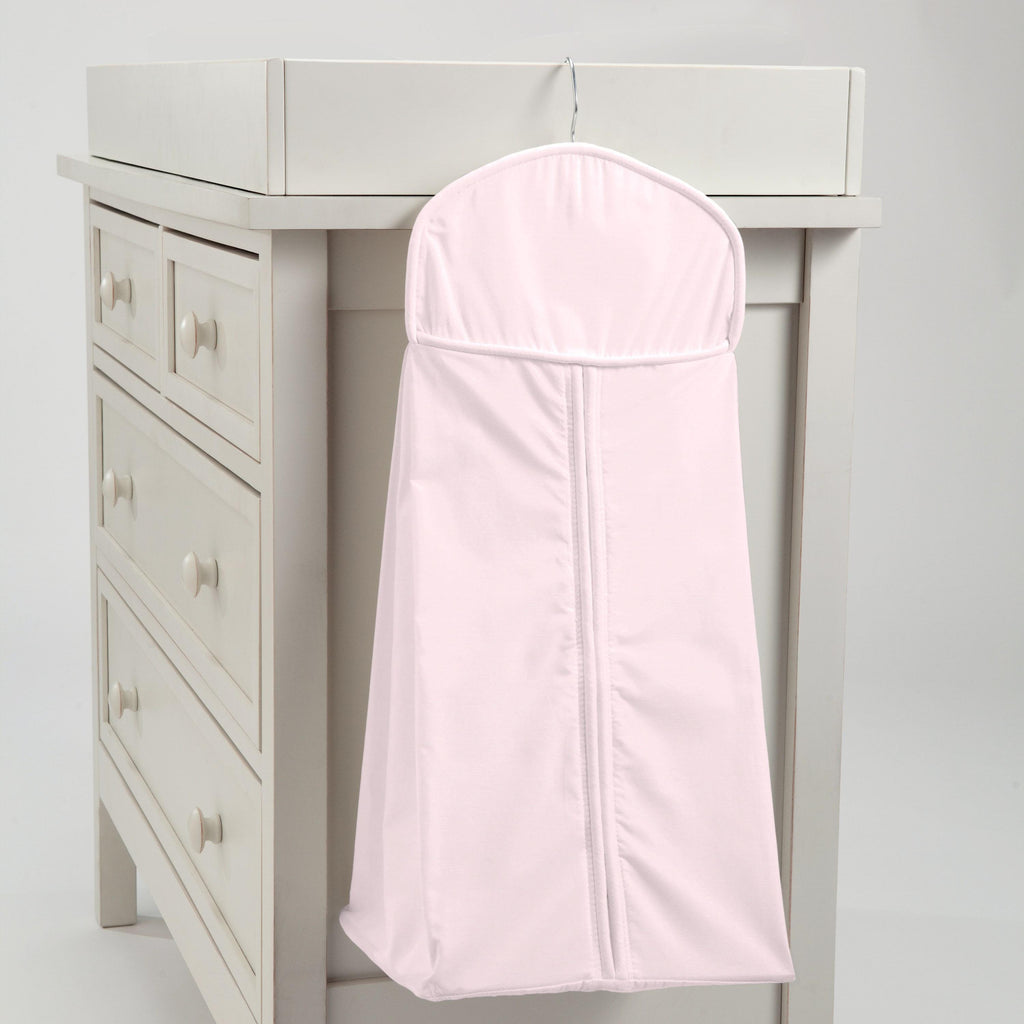 Product image for Solid Pink Diaper Stacker