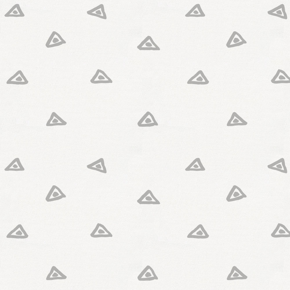 Product image for Silver Gray Triangle Dots Fabric