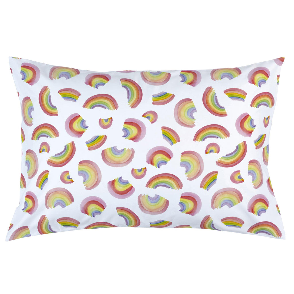 Product image for Watercolor Rainbows Pillow Case