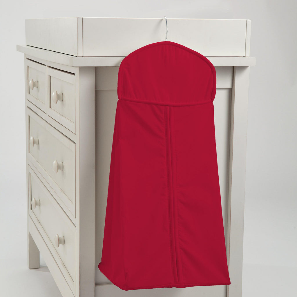 Product image for Solid Red Diaper Stacker