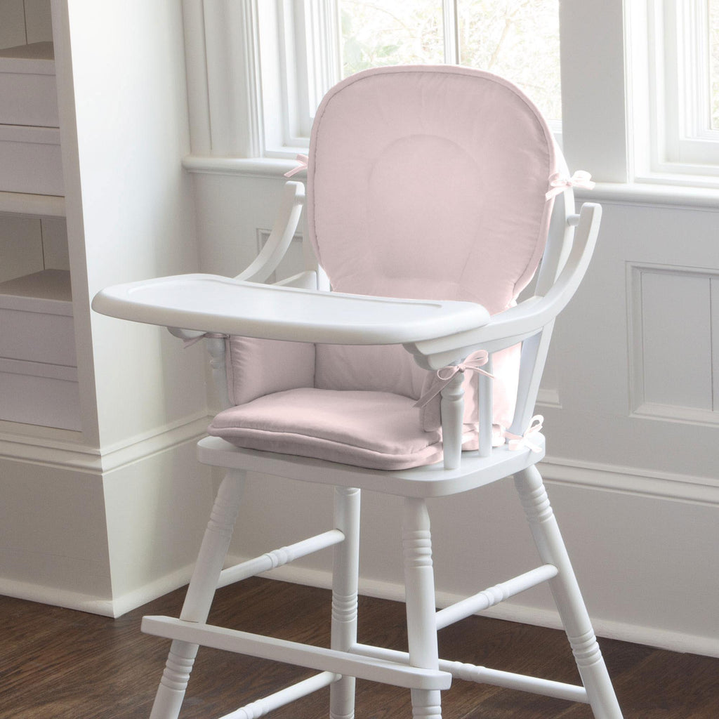 Product image for Solid Pink High Chair Pad