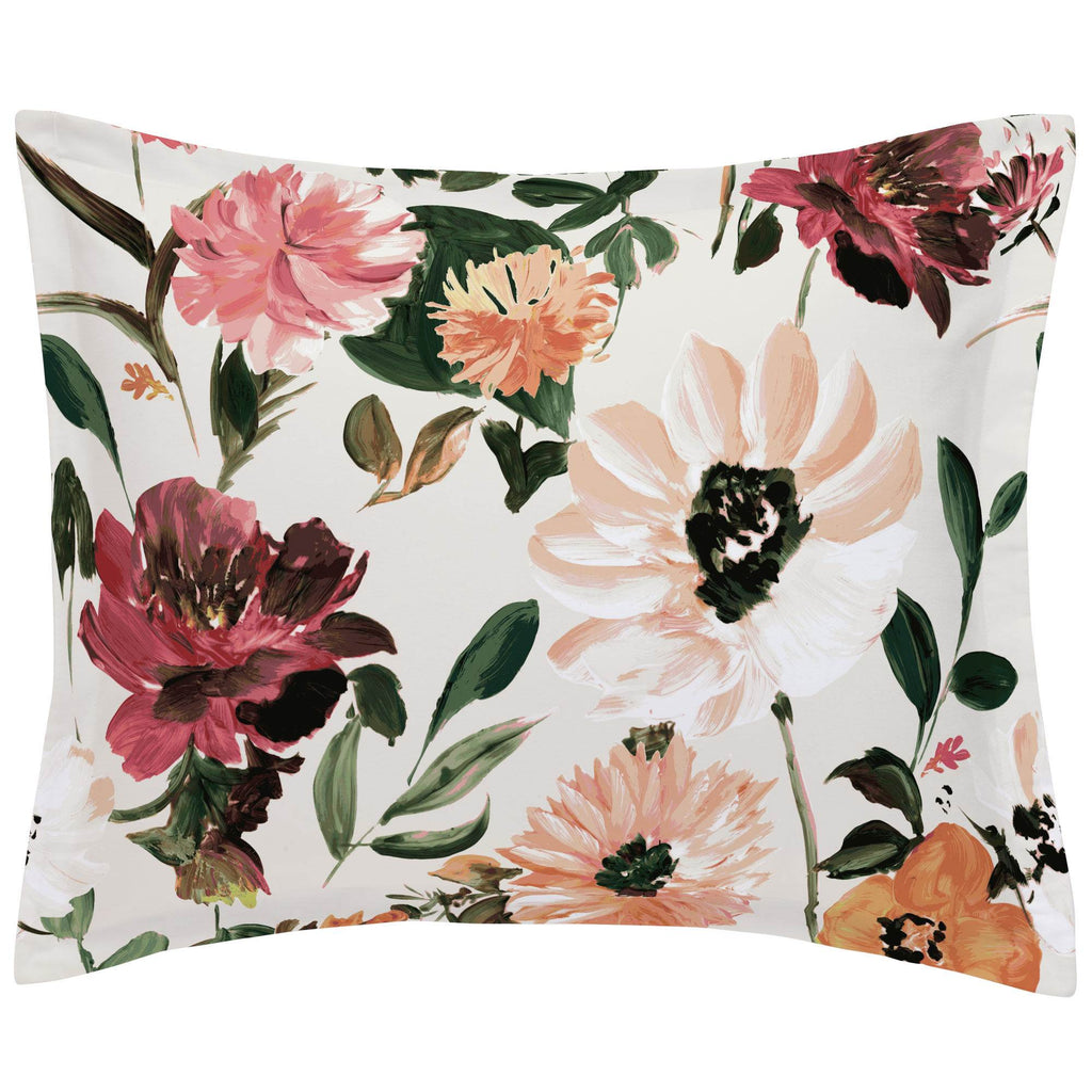 Product image for Moody Floral Pillow Sham