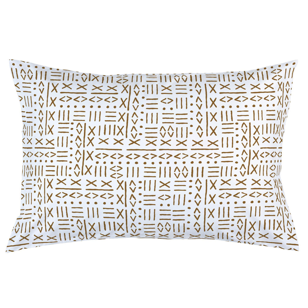 Product image for Caramel Mudcloth Pillow Case