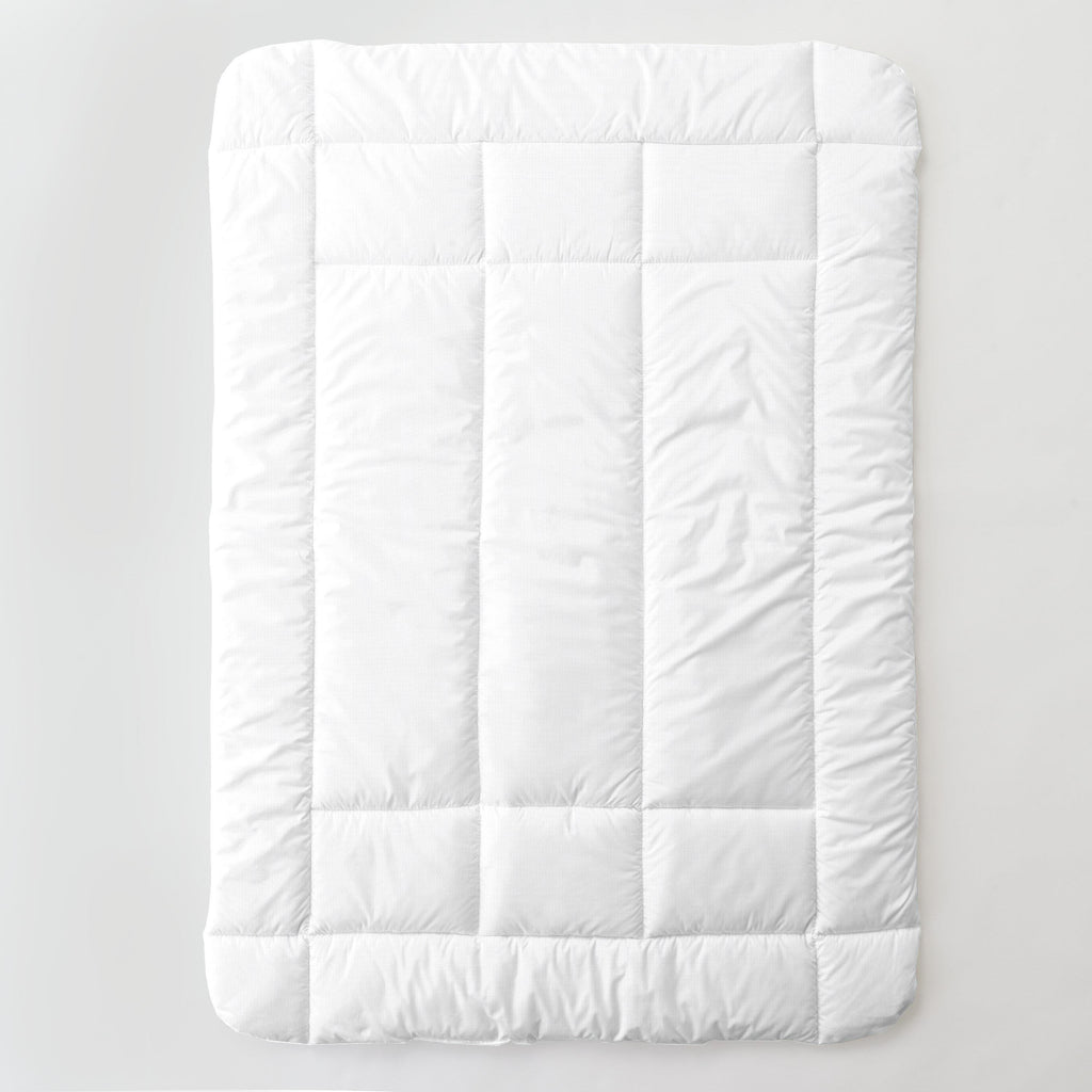 Product image for White Pique Toddler Comforter
