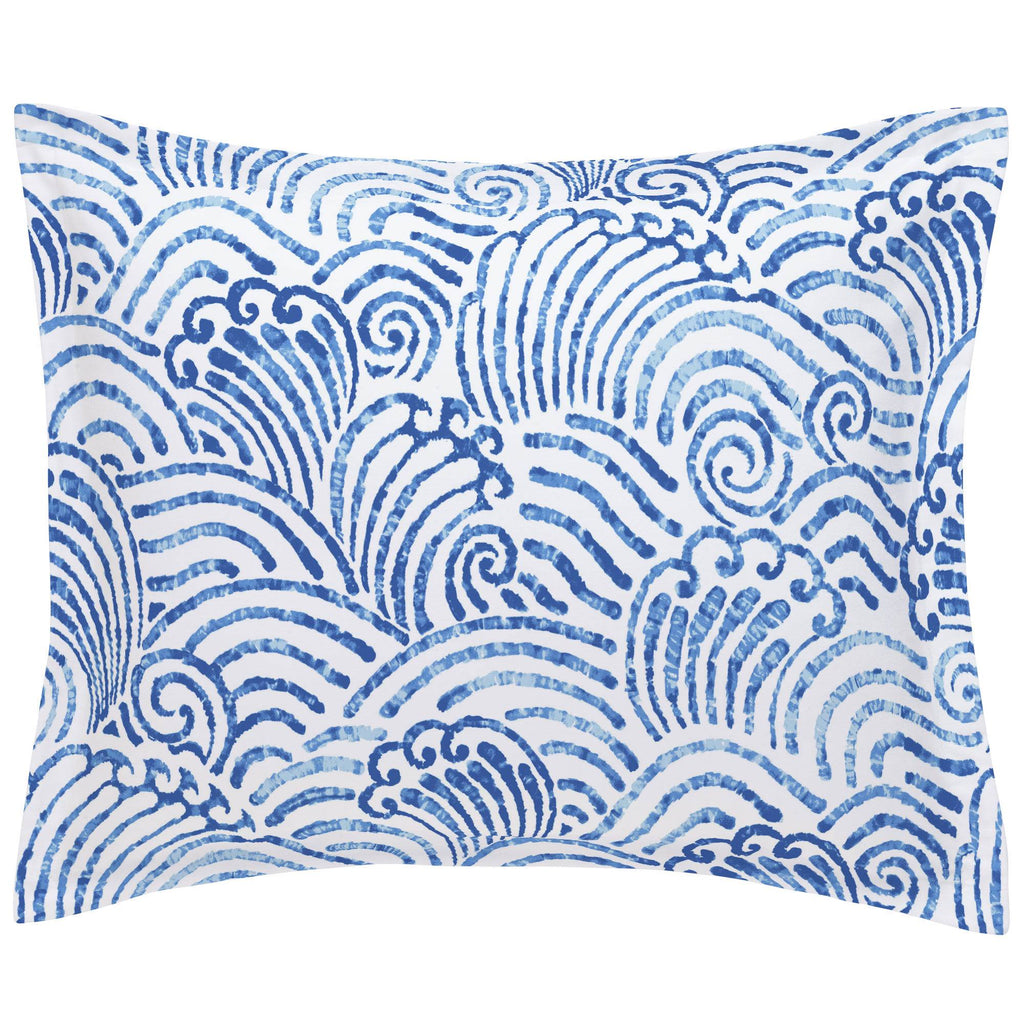 Product image for Blue Seas Pillow Sham