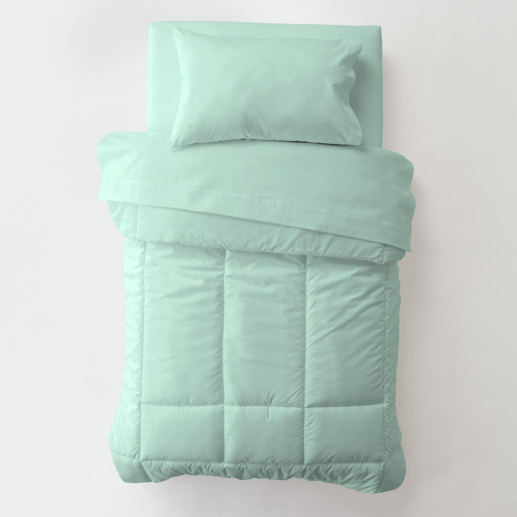 Product image for Solid Mint Toddler Comforter
