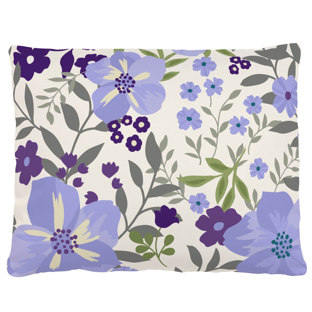Product image for Lavender Floral Tropic Accent Pillow