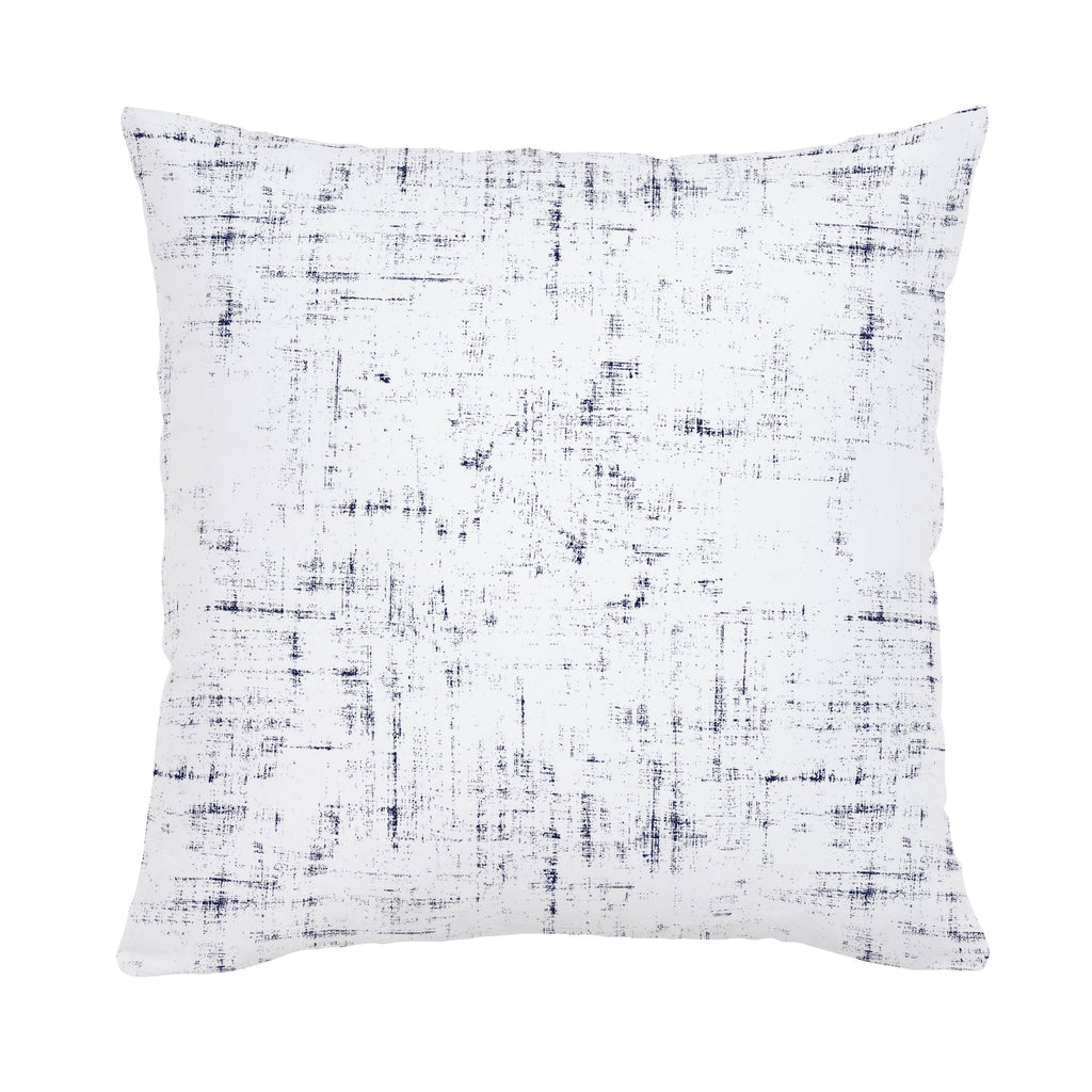 Product image for Navy Distressed Throw Pillow