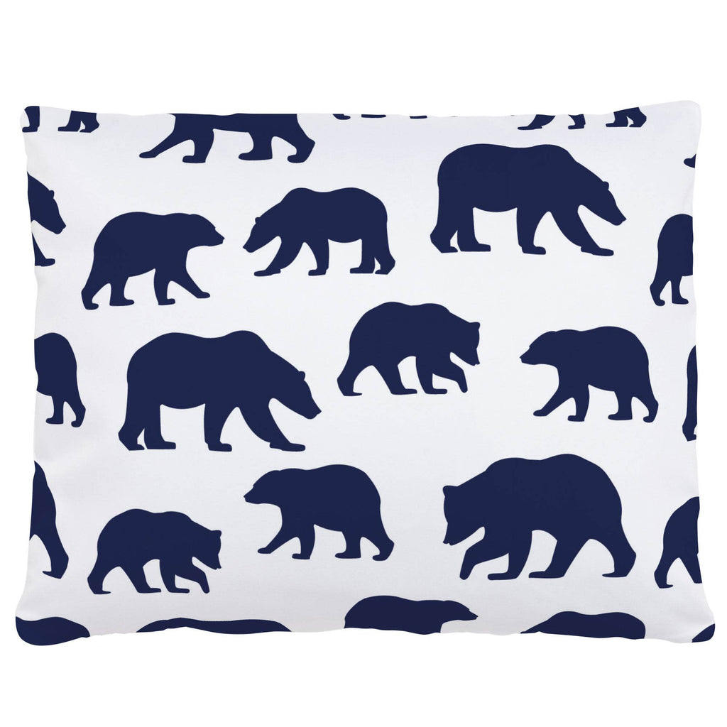 Product image for Navy Bears Accent Pillow