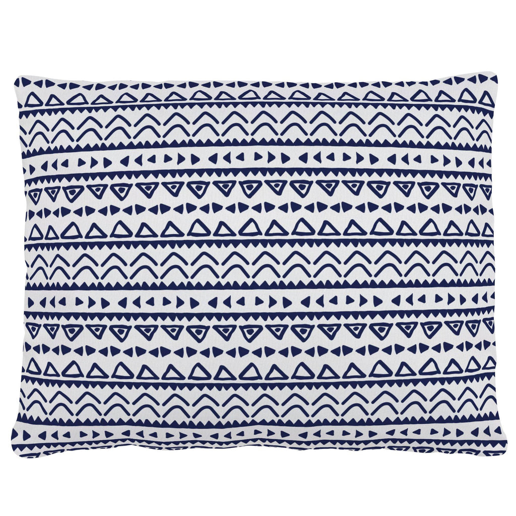 Product image for Windsor Navy Baby Aztec Accent Pillow