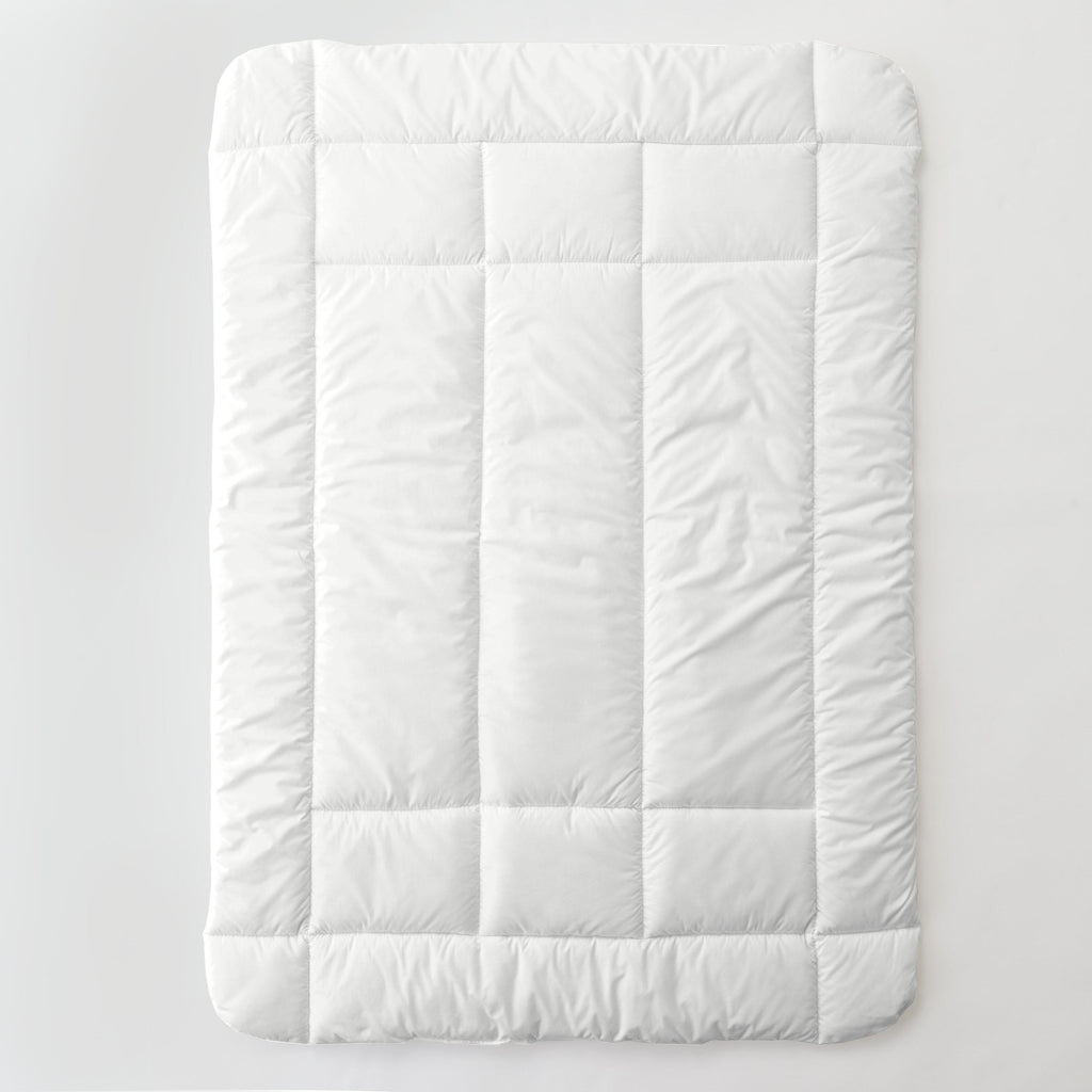 Product image for Solid Antique White Toddler Comforter