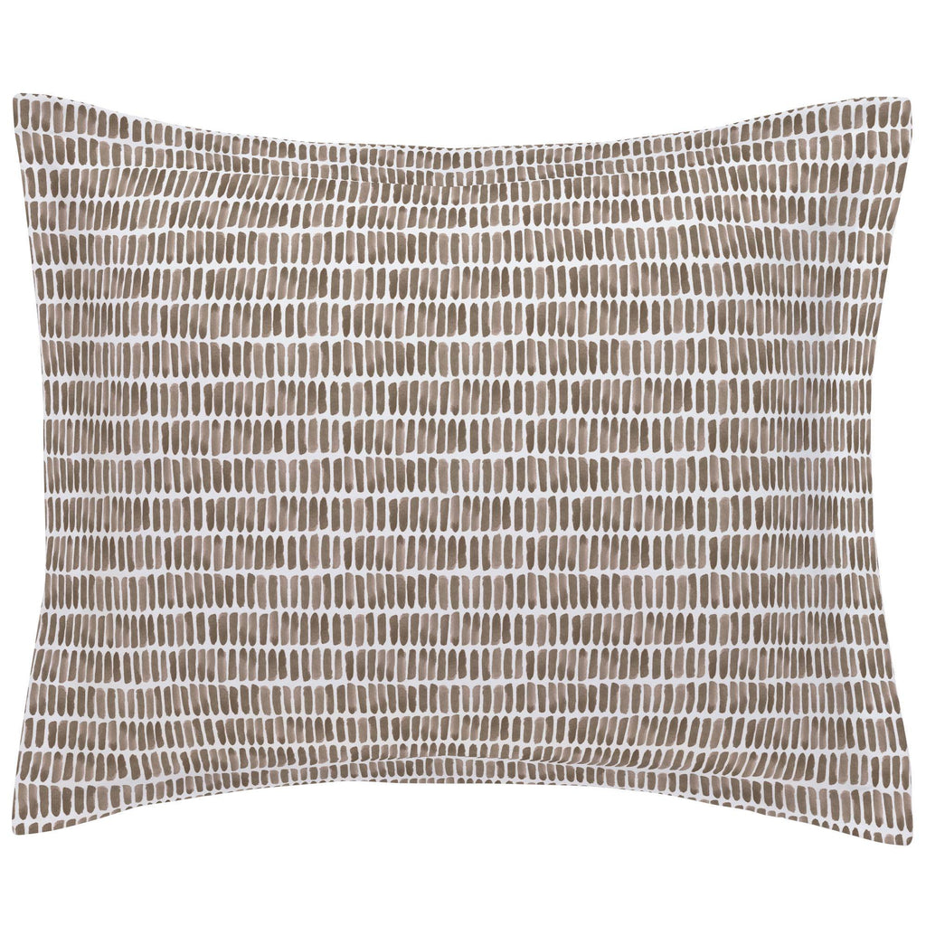 Product image for Mocha Forest Sticks Pillow Sham