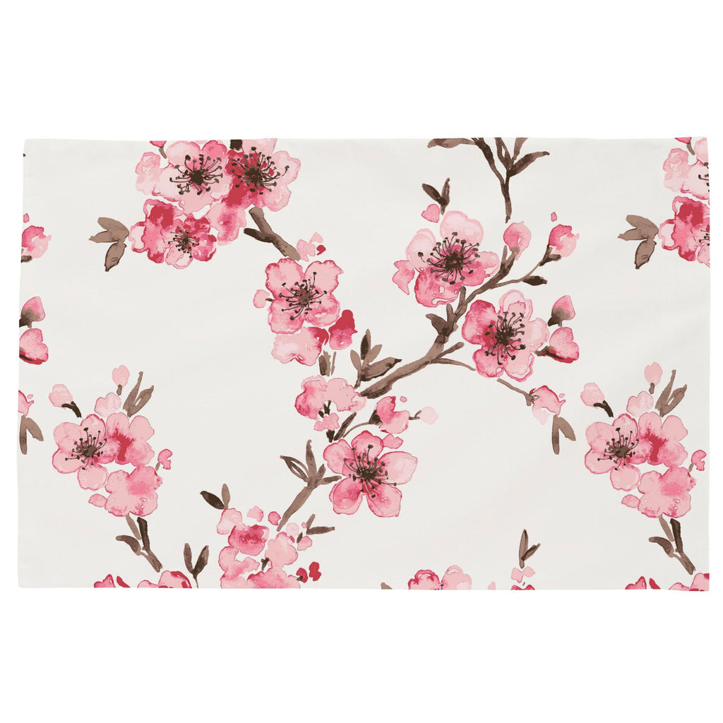 Product image for Pink Cherry Blossom Toddler Pillow Case
