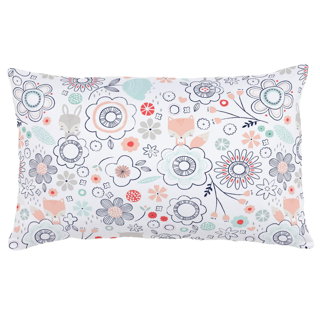 Product image for Coral Spring Doodles Lumbar Pillow