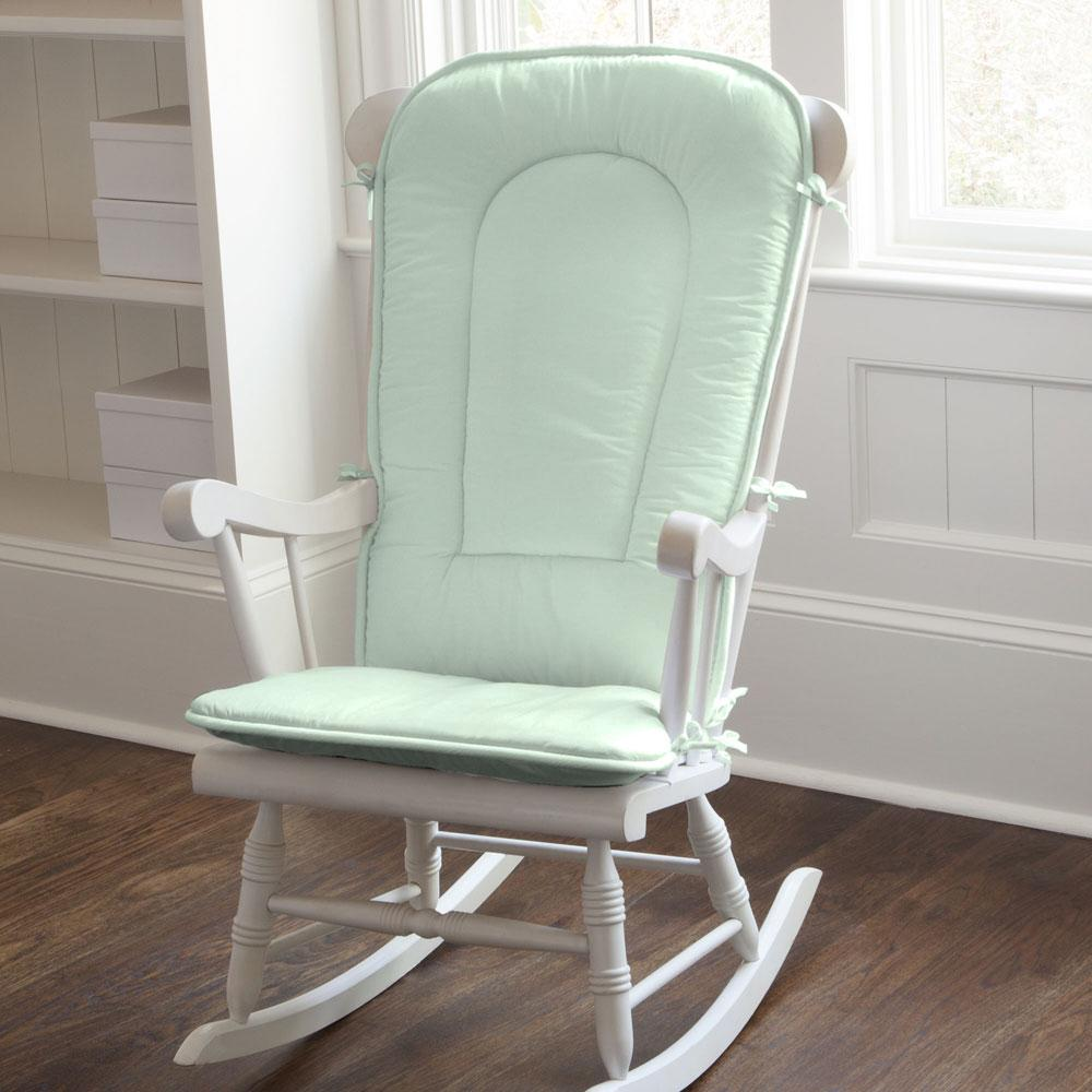 Product image for Solid Icy Mint Rocking Chair Pad