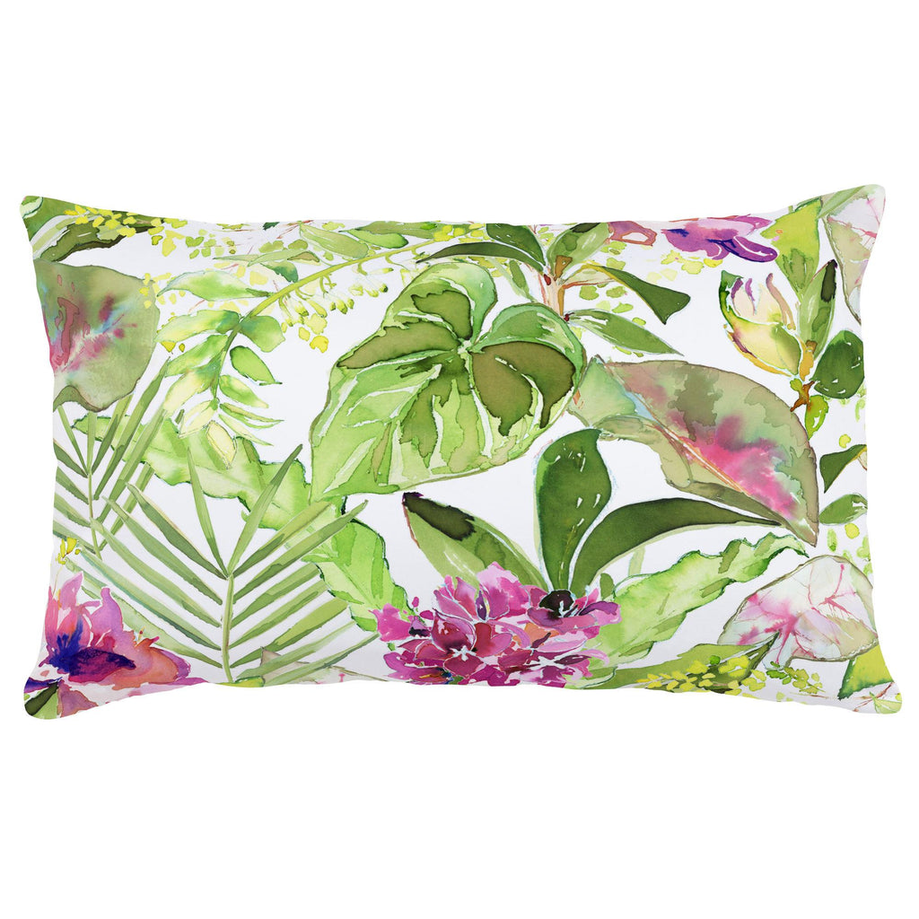 Product image for Tropical Garden Lumbar Pillow