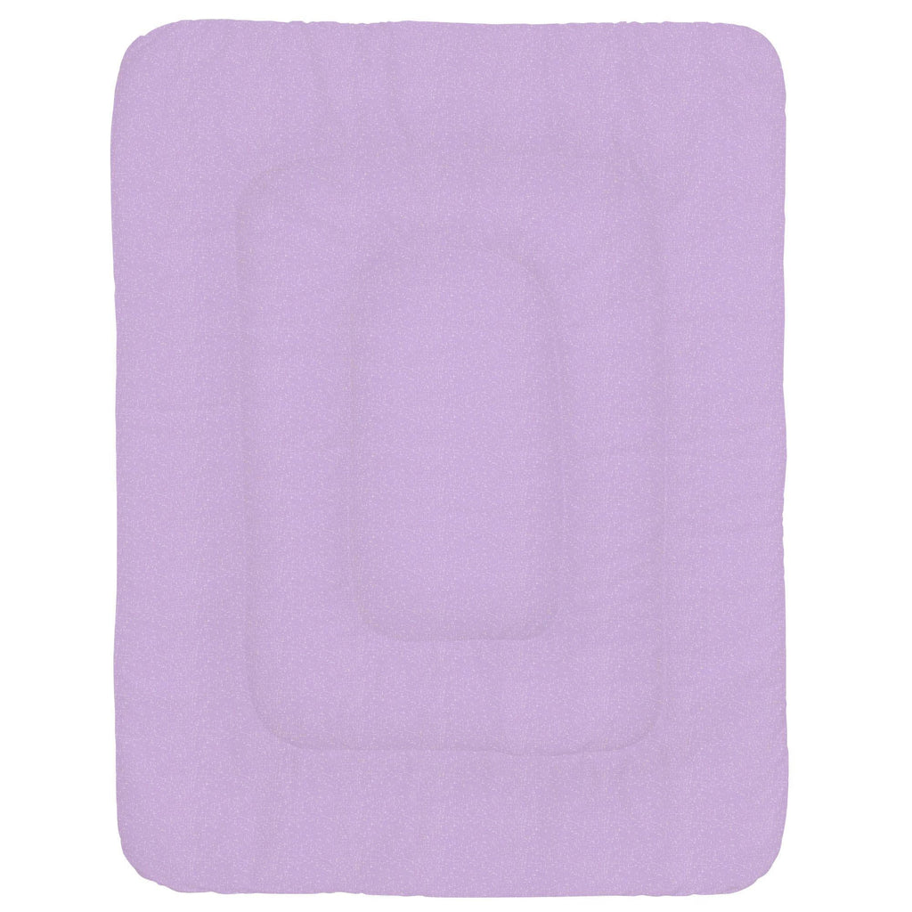 Product image for Pastel Purple Heather Crib Comforter