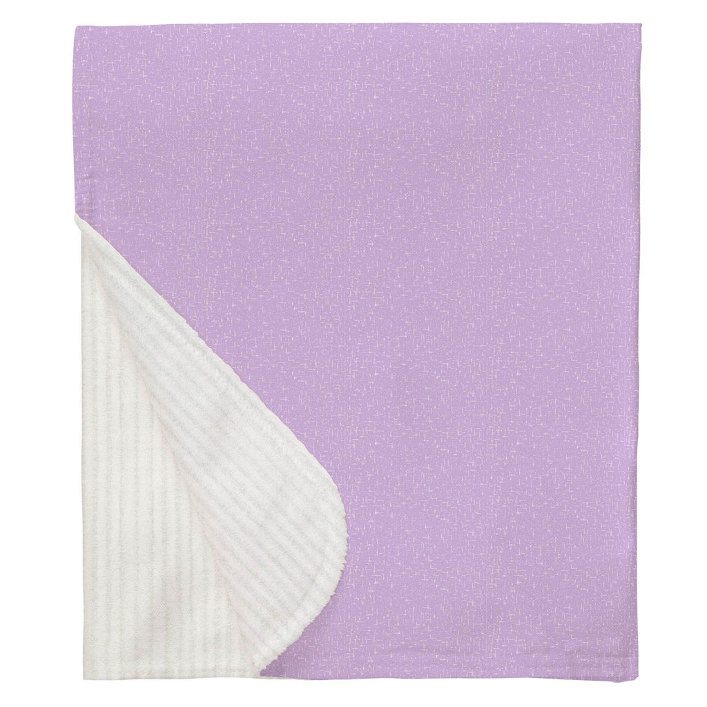 Product image for Pastel Purple Heather Baby Blanket