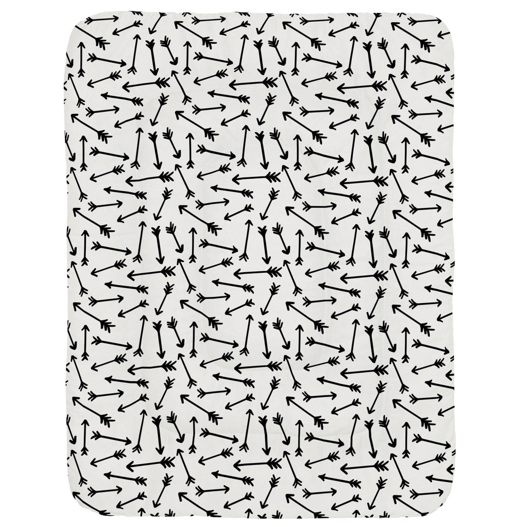 Product image for Onyx Whimsical Arrows Crib Comforter