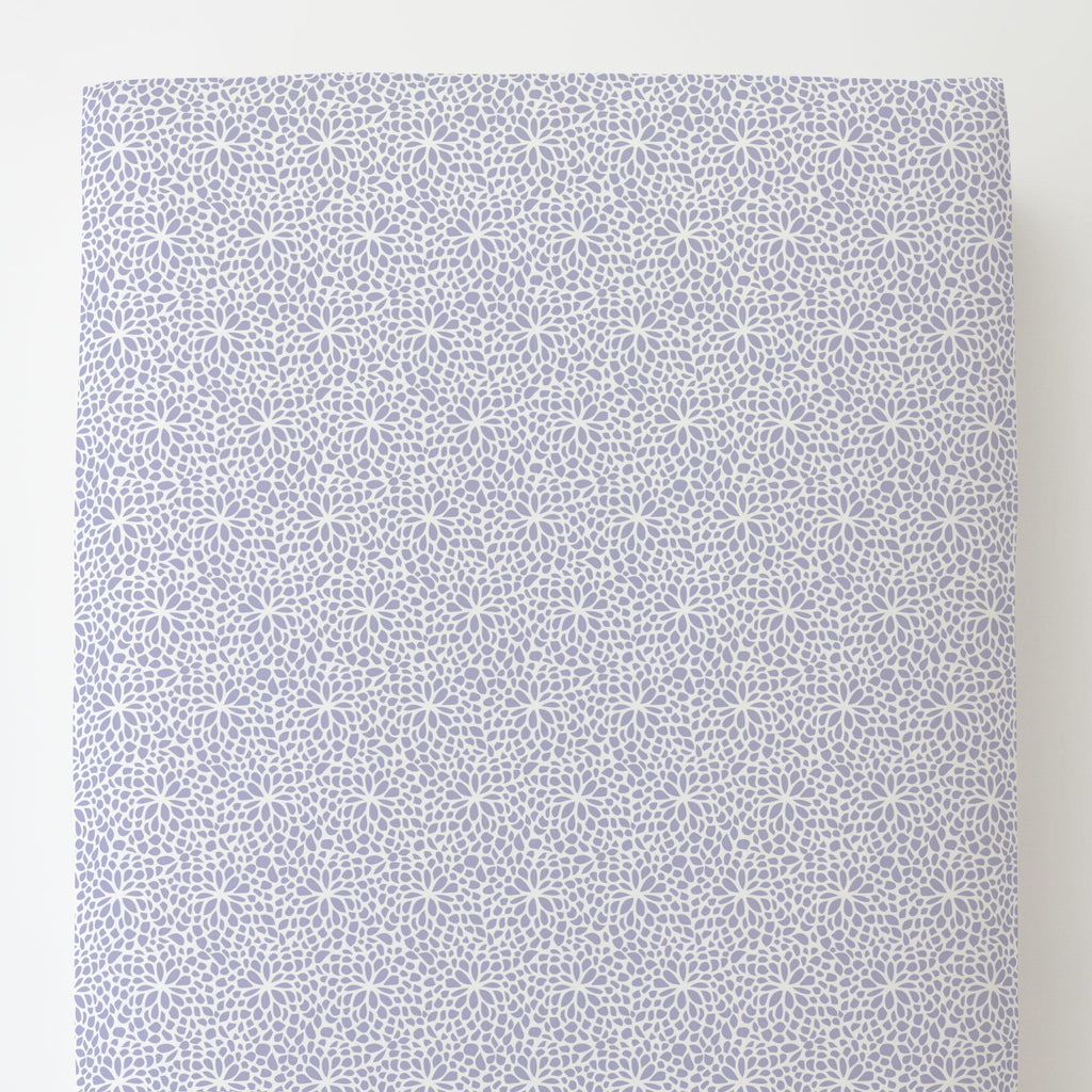 Product image for Lavender Modern Mums Toddler Sheet Bottom Fitted