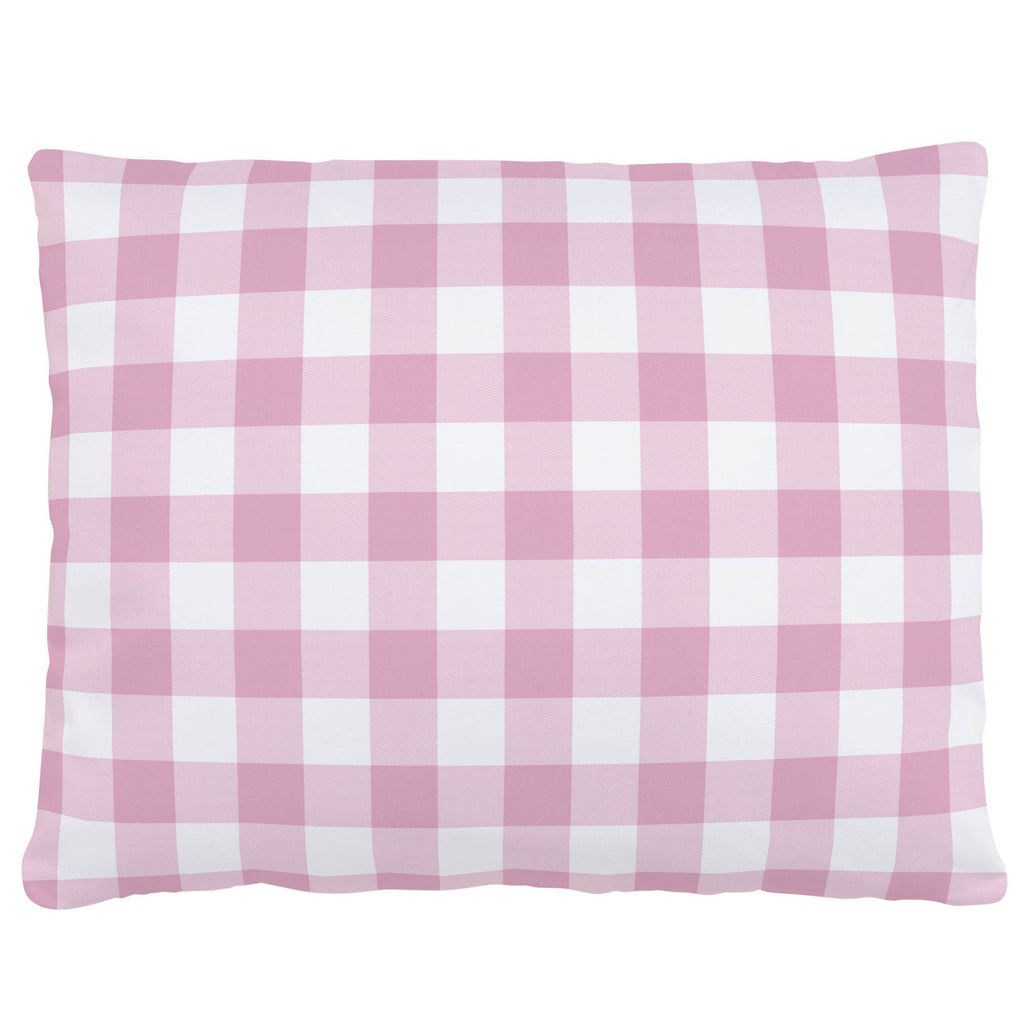 Product image for Bubblegum Gingham Accent Pillow