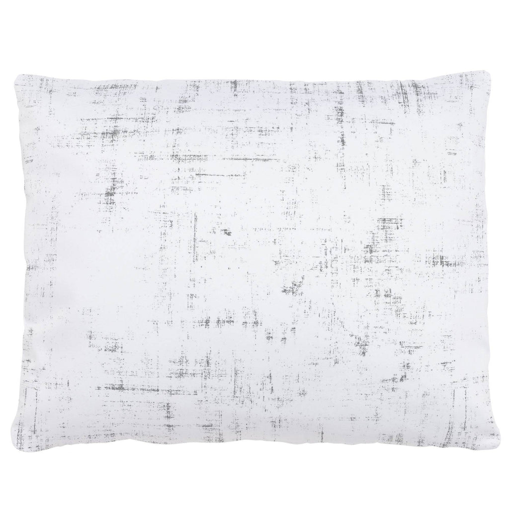 Product image for Cloud Gray Distressed Accent Pillow