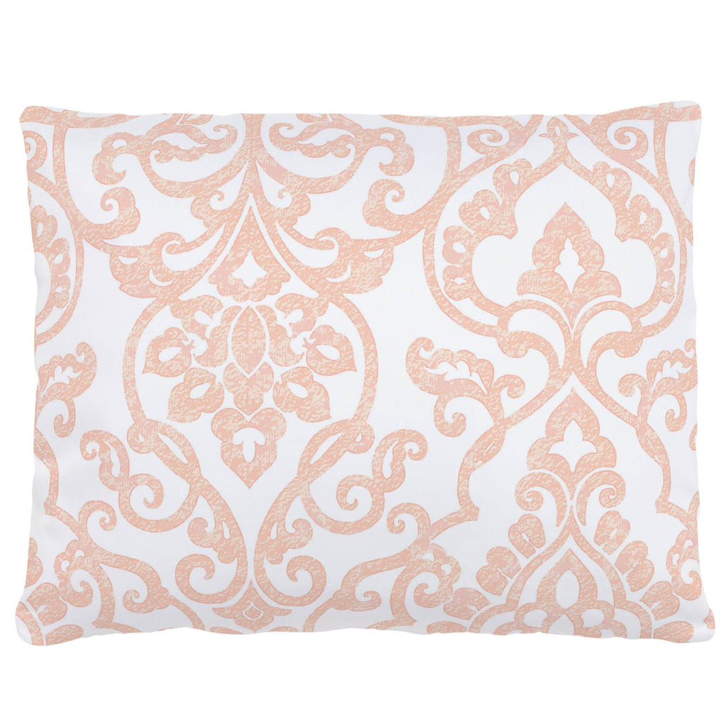 Product image for Peach Filigree Accent Pillow