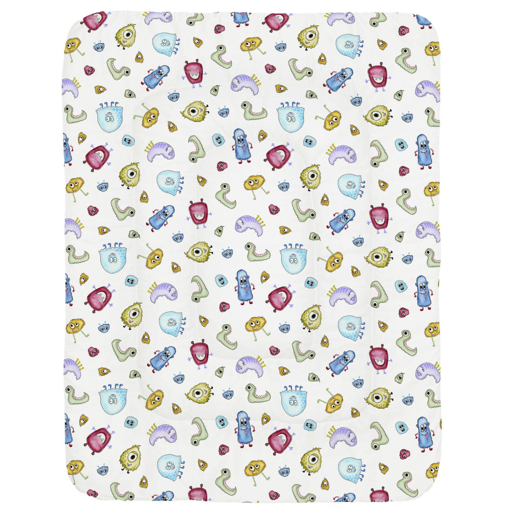Product image for Watercolor Monsters Crib Comforter