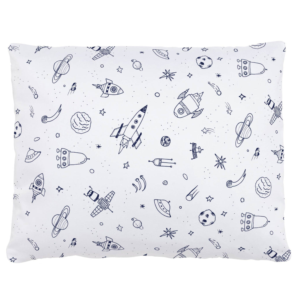 Product image for Windsor Navy and White Rockets Accent Pillow