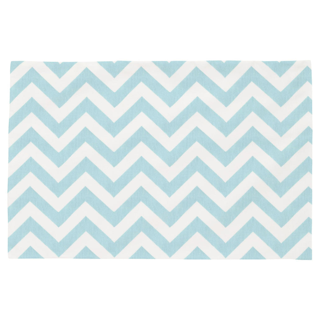 Product image for Mist Zig Zag Toddler Pillow Case