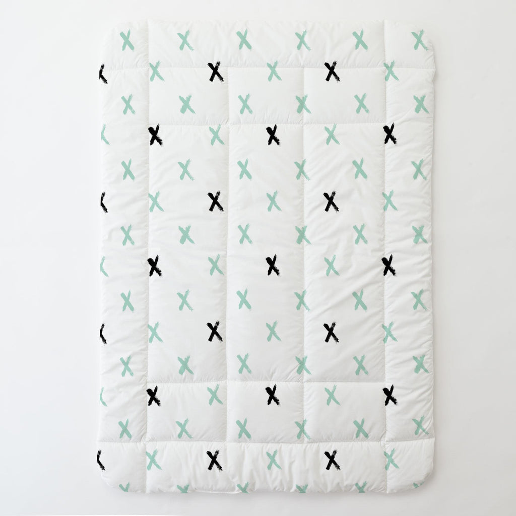 Product image for Mint and Onyx Brush X Toddler Comforter