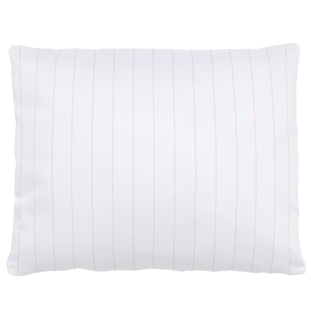 Product image for Pale Pink Pinstripe Accent Pillow