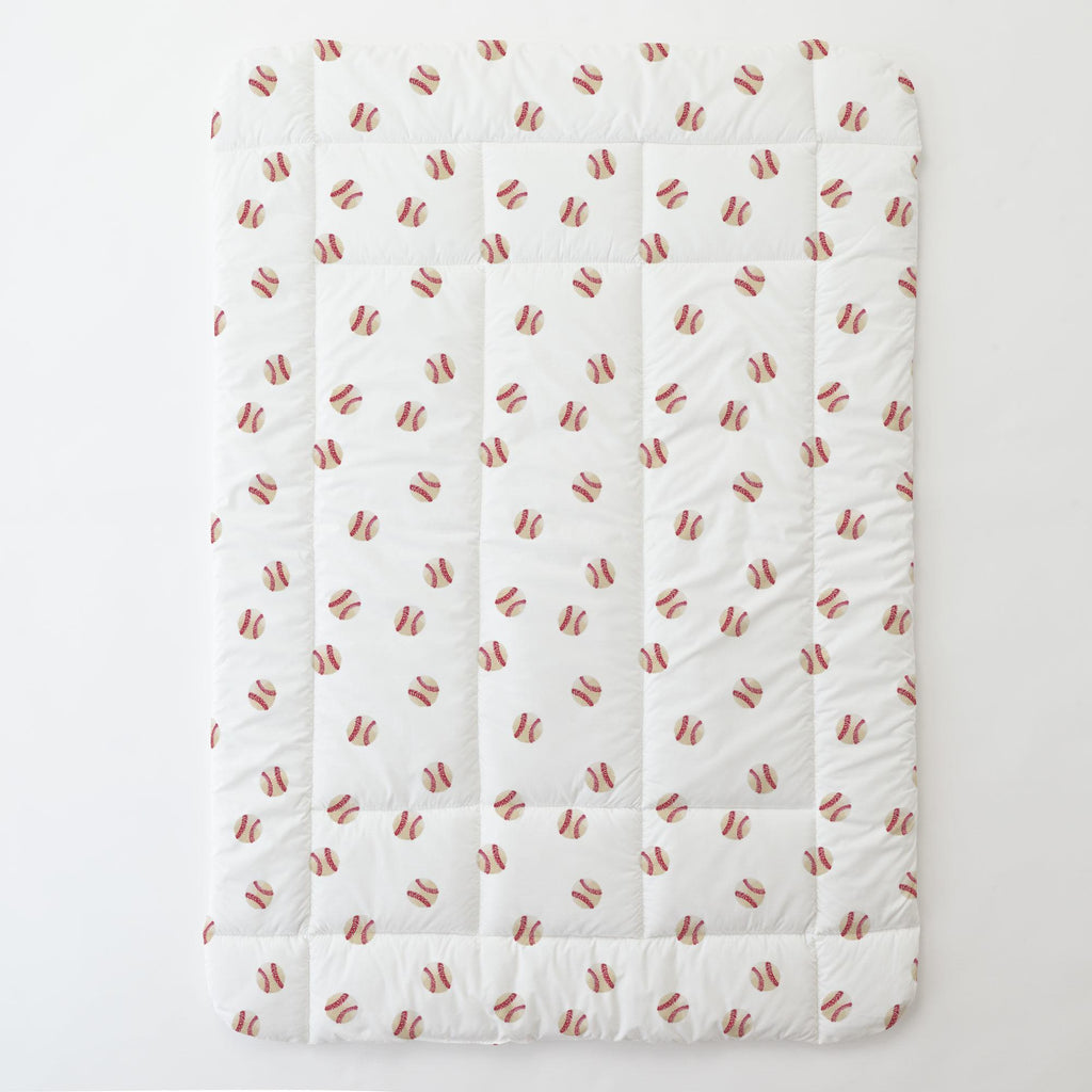 Product image for Watercolor Baseball Toddler Comforter